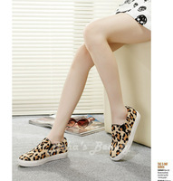 2014 summer new casual women's  Loafers horse hair leather Flat sandals flat shoes