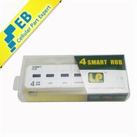 USB2.0 High Speed 4 Ports USB Hub OTG Adaptor for Samsung, HTC, etc