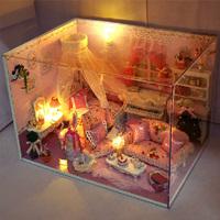 Handmade diy model birthday gifts toy girls