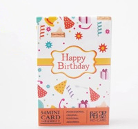 New arrived(2sets/lot), New happy birthday postcard/ greeting card/ wholesale, Message card, 54pcs/set, JY017