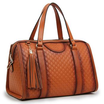 Новый 2014 Оригинальные кожаные сумки Гучи сумка сумки женщин выбивая Женщины кожаные сумки Totes ковша сумка Сумка почтальона Сумочки