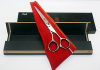 Hair scissors professional cutting scissors JP440C 5.5 INCH KDM55 come with scissors box 1PCS/LOT NEW