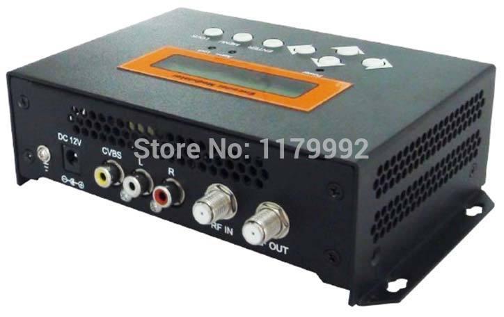 Digital TV CVBS to DVB-C QAM SD Encoder Modulator REM7501M(China (Mainland))