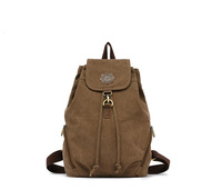 New 2014 Women Fashion Canvas Backpack Hasp Bag 6 Colors Casual Retro Backpacks 47-3 , Free Shipping