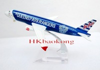 Phoenix 1/400 Airbus A320-200 Air Asia Queens Park Rangers Air Plane Model FC 9MAFV  Airplane TOY Collection Dispaly
