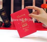 Birdcage passport bag,red  passports,free shipping new passport holders