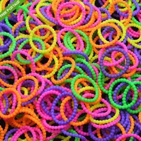 New Style 300 Mix Color Pearl Rubber Bands 12 Clips 1 Hook For Loom Kit