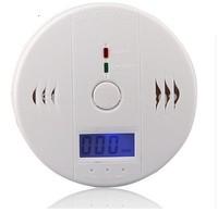 Carbon Monoxide Smoke Detector Gas Fire Warning Alarm Battery-operated Alert