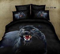 New Beautiful 100% Cotton 4pc Doona Duvet QUILT Cover Set bedding sets Full Queen King 4pcs animal bear leopard