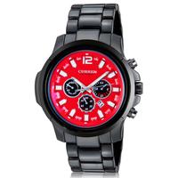New 2014 Curren fashion quartz  men sports watch  full steel casual smart male clock army atmos clock men military watch