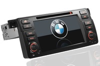"""A Touch screen  7""""  in dash head unit car dvd gps navigation player multimedie  for BMW for E46 for 325i 325xi 325ci 330i 330ci"""