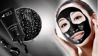 Deep Cleansing purifying peel off Black mud Facail face mask Remove blackhead facial mask 60ml,free shipping