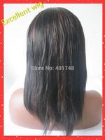 Stock Light yaki human hair full lace wig