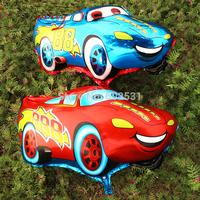 New Arrival!  Animation McQueen car foil cartoon Wholesale Various Aluminum Foil cartoon balloons, Baby's Toy & Gift.
