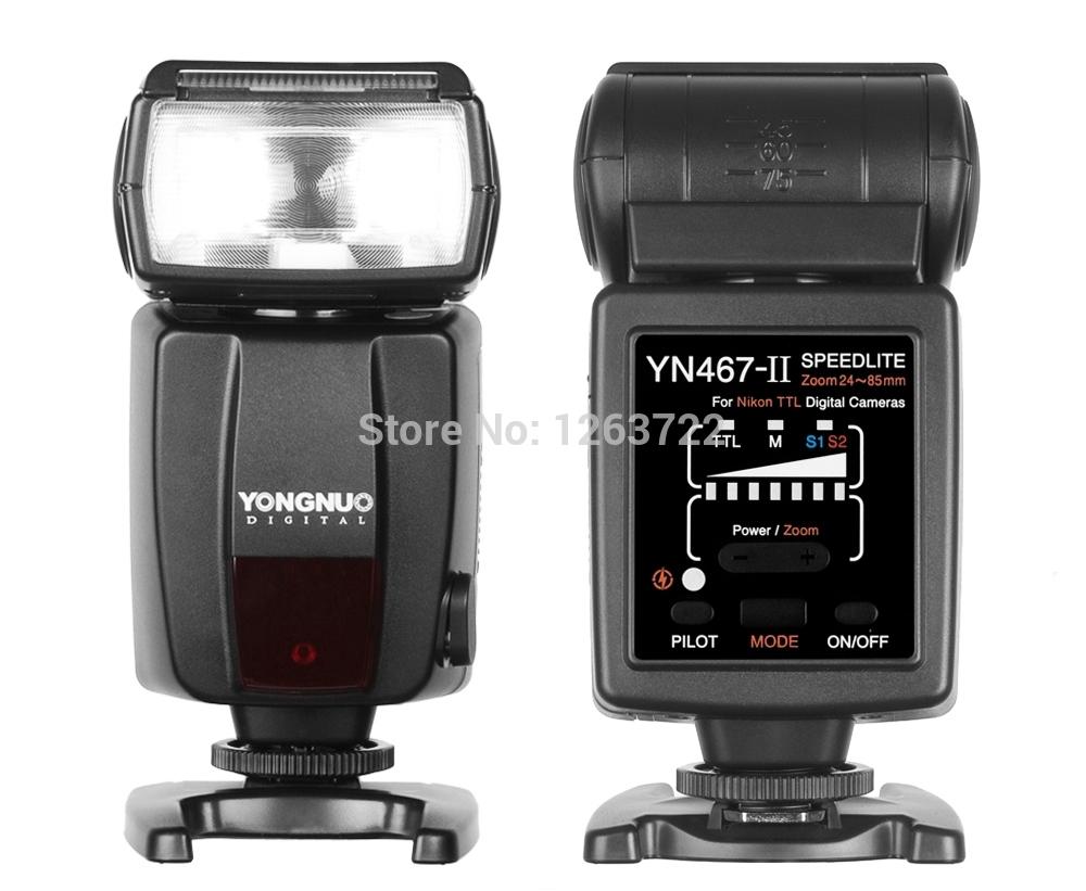 Yongnuo Flash Unit Speedlite YN-467 II YN467-II GN33 PC port for Nikon D5000 D3100 D7000 D90 D5100 D3100(China (Mainland))