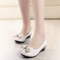 nmg02 Stylish Lady flat bowtie shoes Women  dress shoes, office shoes