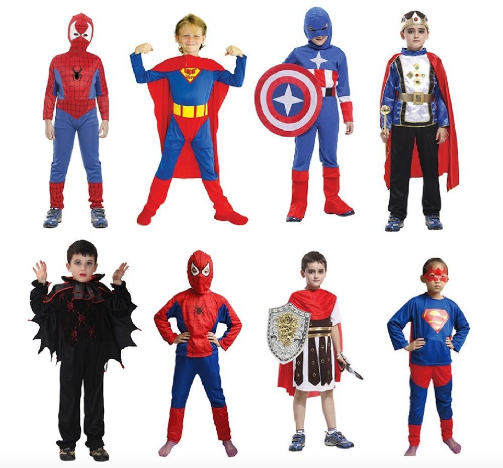 Gratuito il trasporto di goccia 2014 nuovo arrivo super uomo The Amazing Spider- Man 2 costume spiderman tuta spiderman ragazzo ragazza bambino 2-9 anno