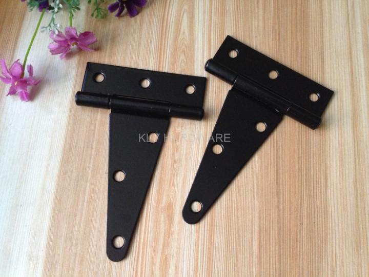 4-inch Extra Heavy Tee Hinge,Black Heavy Tee Hinge,gate door hinge 2-pack(China (Mainland))