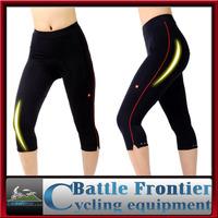 Fashion woman's summer cycling bicycle shorts/Capri lengths/tights/3D sewing+silicon perspireM,L,XL,XXL,XXXL bike wear ventilate