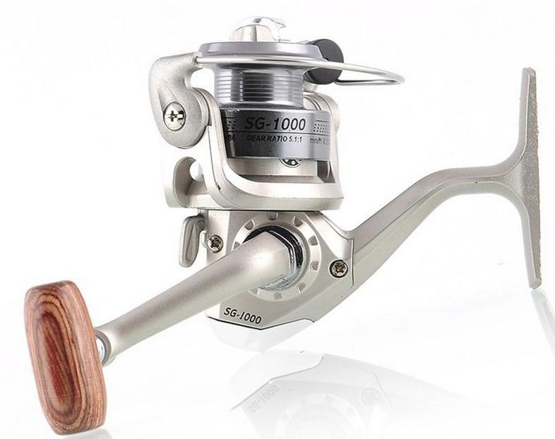 2014 6 BB 6BB High Power Gear Spinning Spool Aluminum Fishing Reel SG1000 Free Shipping(China (Mainland))