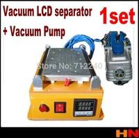 1set 110v -220v Vacuum LCD Separator Machine Seperator to Repair Separate Refurbish Touch Screen + vacuum pump