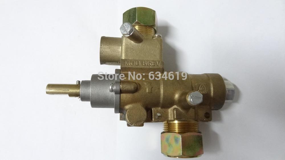 Gas safety valve automatic emergency cut-off, heat sensor vavle, brass valve with pilot fire(China (Mainland))
