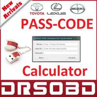 PASS CODE Calculator for Toyota Lexus Scion original development tool