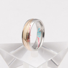 The pure designed stainless steel wedding ring  Size : 6,7,8,9,10,11,12