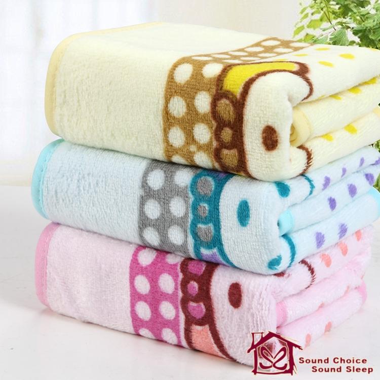 microfiber high absorbent towels animal printed baby bathrobe cartoon bath towel for children handkerchief bib 3pcs/lot MJ-1027(China (Mainland))