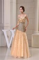 Sweetheart Floor-Length Silk-like Satin Fine-Netting Pageant Dresses