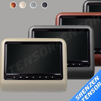 9'' headrest Car DVD player with digital panel