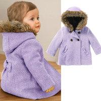 wholesale 5pcs/lot fleece autumn winter gril baby coat ,kid's quilting coat ,children jacket coat
