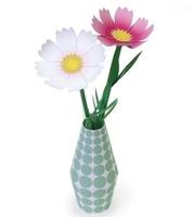 Plant flowers flower season 3 3D paper model DIY manual
