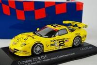 Minichamps 1:43 Scale Corvette C5-R GTS CHAMPION 2001 muscle car model - 4 left