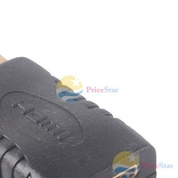 PriceStar Mini HDMI Female to HDMI Male F M HD TV Gold Plated Adapter Connector Converter Worldwide free shipping