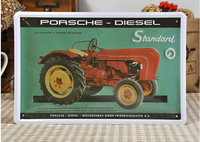 Old Style Car Tin Sign Metal Poster Wall Decor BAR CLUB SHOP Hanging 20x30cm Painting