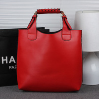 2014 Summer new arrival women totes Westen style women handbag Vintage Solid women shoulder bags Super quality Unisex bags