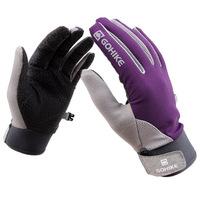 Free shipping couple models summer outdoor sunscreen full finger gloves fishing gloves breathable nonslip hiking gloves