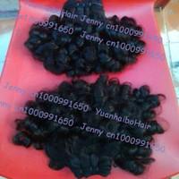 Hot sale Grade 6A 3pcs/lot #1b peruvian virgin romance curl aunty funmi hair for black women free shipping