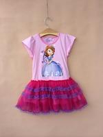 2014 new style  SOFIA Dress  Mesh Tutu Dress