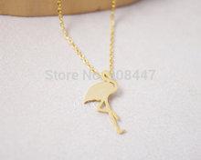silver crane necklace price
