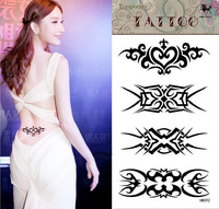 2014 fake temporary flower tatoo temporary tattoo sticker waterproof colorful tribal tatto best tattoos pictures tattooing