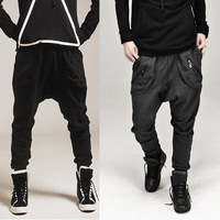 2014 Youth Men Spring Autumn Harem Pants Low-rise Pants Sports Fashion Casual Trousers Free Shipping XTRX77