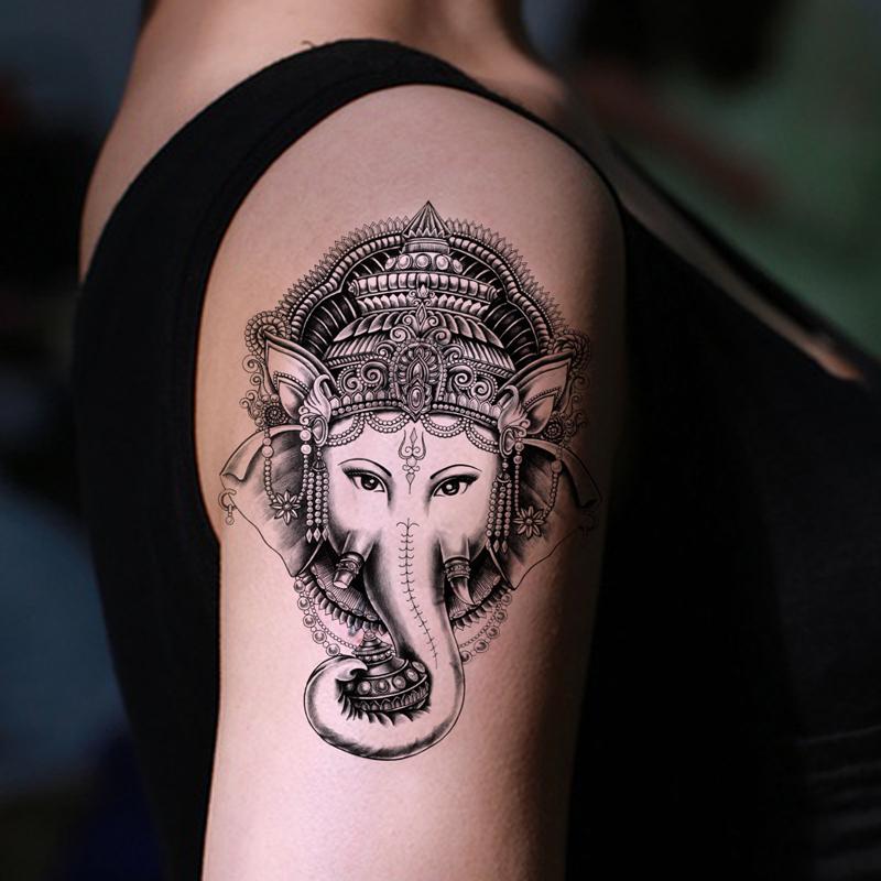 Thai Elephant Tattoos Tattoos Large Elephant