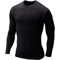 Men's Boy Compression Body Base Layer Thermal Under Top Long Sleeve Sport T-Shirts Skins Gear Cool Dry SML XL XXL