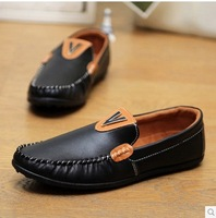 men's flats The New England set foot driving loafers dou men shoes breathable male leather shoes