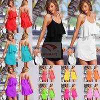 2014 New Summer Beach Dress Sexy S-curve Smock Seaside Resort Dress DM-VB006