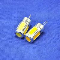 50pcs/lot 7.5W 360 Beam Angle Aluminum G4 LED Crystal Spotlight Bulbs DC12V LED Replace Halogen Lamp Bulbs