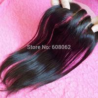 "New Fashion lace closure straight brazilian virgin hair 3 parts lace closure 8""-20"" natural color 1pc/lot"