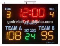 led display  7- segment red remote led scoreboard